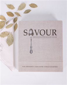 gifts: Personalised Savour Cookbook!