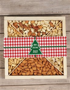 gifts: Personalised Festive Nut Tray!