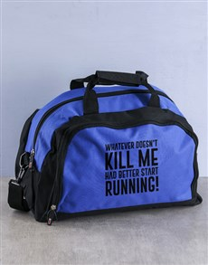 gifts: Personalised Start Running Gym Bag!