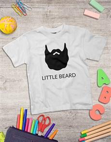 gifts: Personalised Little Beard Kids Shirt!