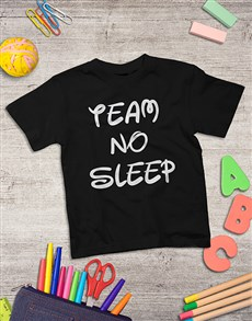 gifts: Personalised No Sleep Kids Shirt!