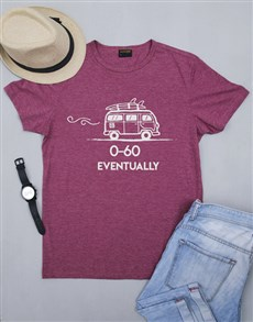 gifts: Personalised 60 Eventually Mens Shirt!