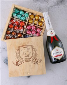 gifts: Personalised Anniversary Year Choc Box!