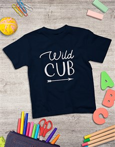 gifts: Personalised Wild Cub Kids Shirt!
