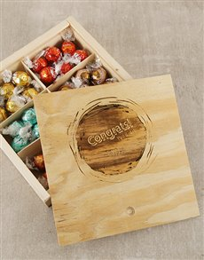 gifts: Personalised Congrats Lindt Box!