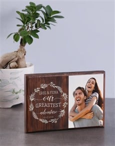 gifts: Personalised Greatest Adventure Photo Block!