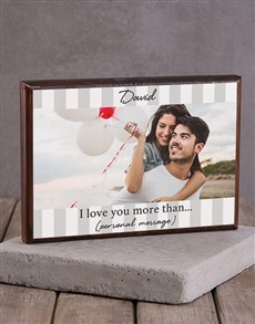 gifts: Personalised More Than Printed Photo Frame!