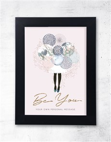 gifts: Personalised Be You Framed  Wall Art!