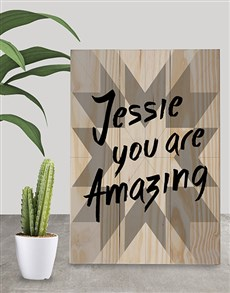 gifts: Personalised You Are Amazing Wall Art!
