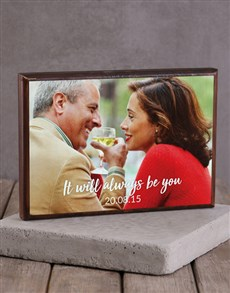 gifts: Personalised Always You Wooden Block!
