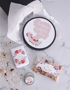 gifts: Personalised Womens Day Bath Gift Box!