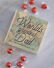 gifts: Personalised Worlds Greatest Dad Chocolate Box!