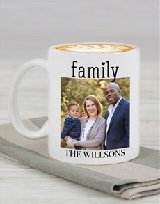 gifts: Personalised Family Photo Mug !