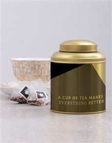 gifts: Personalised Everything Better Tea Tin!