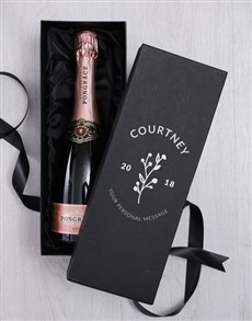 gifts: Personalised Pink Bubbly Giftbox!