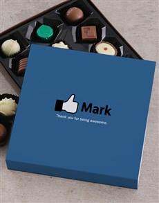 gifts: Personalised Like A Boss Choc Tray!