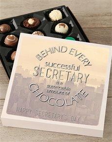 gifts: Personalised Secretarys Day Choc Tray!