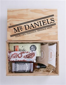 gifts: Personalised Title Man Crate!