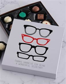 gifts: Personalised Secretarys Day Specs Tray!