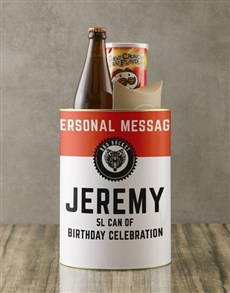 gifts: Personalised Birthday Bro Bucket!