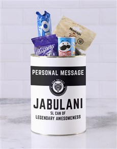 gifts: Personalised Legendary Bro Bucket!