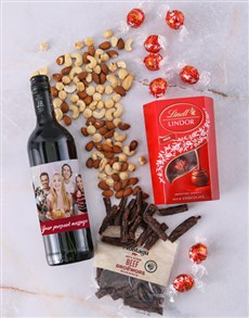 gifts: Personalised Photo Gourmet Hamper!