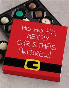 gifts: Personalised  Ho Ho Ho Christmas Tray!