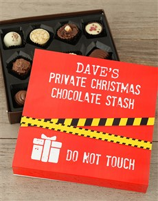 gifts: Personalised Christmas Stash Tray!