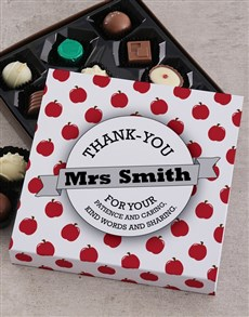 gifts: Personalised Thank You Teacher Sleeve!