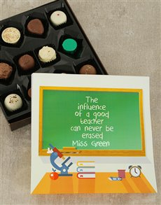 gifts: Personalised Good Teacher Choc Sleeve!