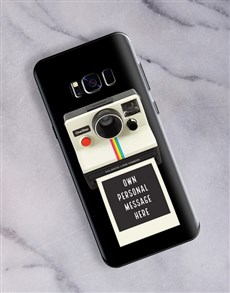 gifts: Personalised Polaroid Samsung Cover!
