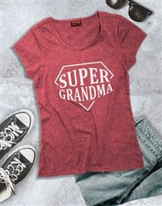 gifts: Super Grandma Shirt!