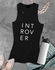 gifts: Introvert Shirt For Ladies!