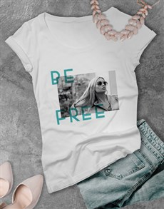 gifts: Ladies Contemporary Be Free Tshirt!