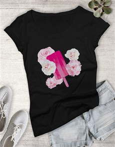 gifts: Floral Ice Stick Ladies Tshirt!