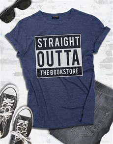 gifts: Personalised Bookstore Tshirt!