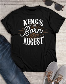gifts: Personalised Kings Shirt for Men!