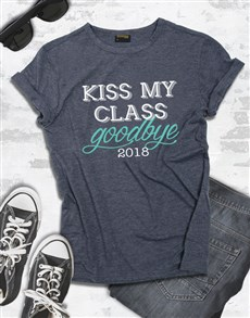 gifts: Personalised Kiss My Class Shirt for Men!