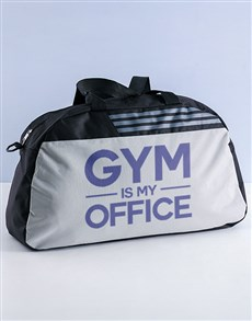 gifts: Personalised Gym Is My Office Bag!