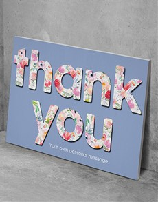 gifts: Personalised Thank You Wall Art!