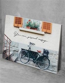 gifts: Personalised Bicycle Views Wall Art!