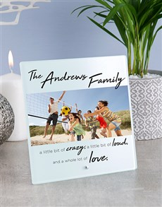 gifts: Personalised Family Glass And Stone Tiles!