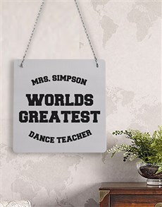 gifts: Personalised Worlds Greatest Metal Sign!