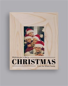 gifts: Personalised Christmas Wish Photo Frame!