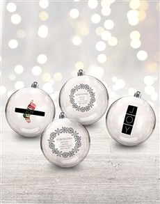 gifts: Personalised Loved Ones Baubles!