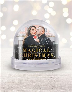 gifts: Personalised Magical Christmas Photo Snow Globe!