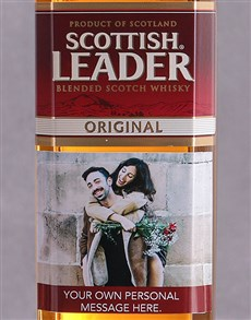 gifts: Personalised Photo Scottish Leader!