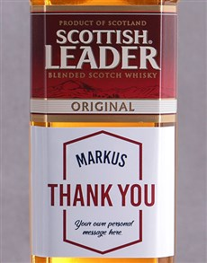 gifts: Personalised Thank You Scottish Leader!
