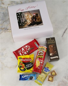 gifts: Personalised Happy Holidays Gourmet Giftbox!