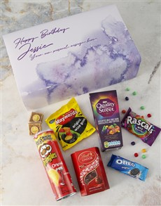gifts: Personalised Gourmet Birthday Giftbox!